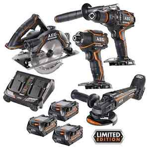 New AEG Brushless Combo Pro x4 Ryde Ryde Area Preview