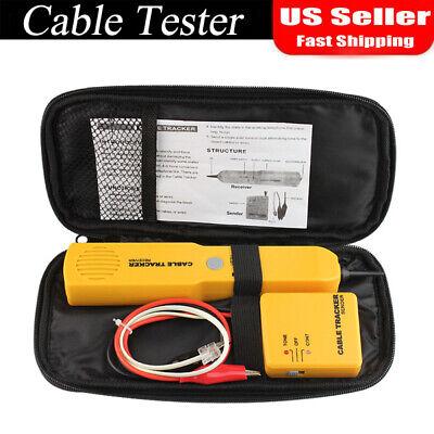 Network Rj11 Line Finder Cable Tracker Tester Sender Wire Tracertool Bag Pouch