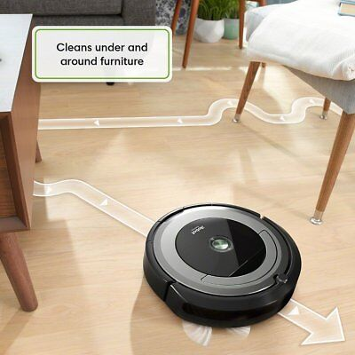 iRobot Roomba 690 App-Controlled Robot Vacuum - Black/Silver