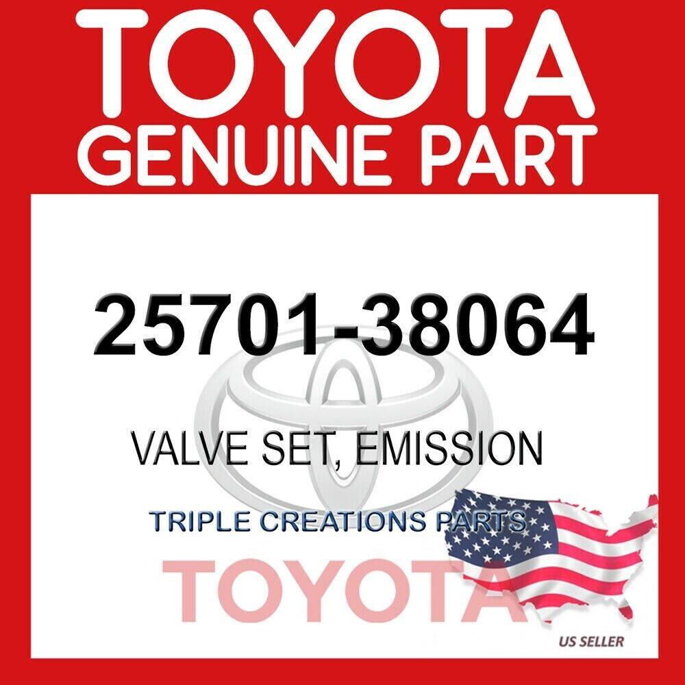 TOYOTA VALVE SET EMISSION 25701-38064 brand new Original