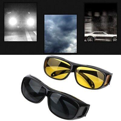 Anti-Snow Blind Unisex-Sonnenbrille UV-Schutz Night Drive Vision Yellow Film ()