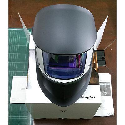 3M Welding Helmet Speedglas SL Auto-Darkening Filter Shades 8-12 Black