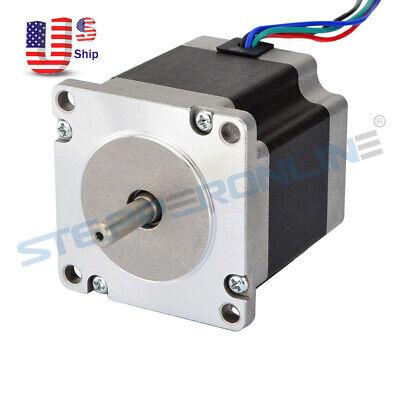0.9deg Nema 23 Stepper Motor 1.26nm178.4oz.in 2.8a 57x56mm 4 Wires 3d Printer