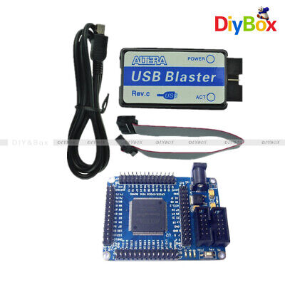 Mini Altera Ii Ep2c5t144 Fpga Board Usb Blaster Jtag Programmer With Cable