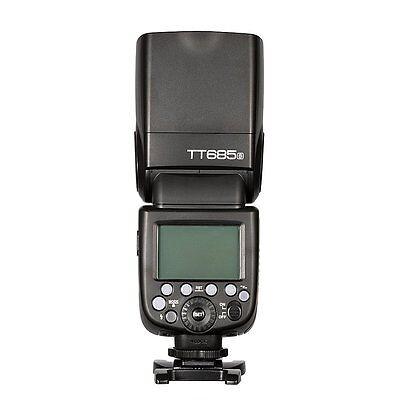DE Godox TT685S GN60 2.4G TTL HSS Blitz Blitzgerät Aufsteckblitz für Sony Kamera