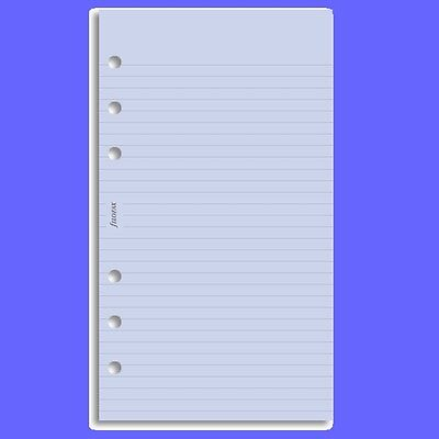 Personal Ruled Notepaper - Filofax Personal Lavender Ruled Notepaper Refill Insert 133015 Diary