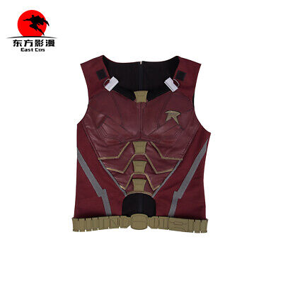 DFYM DC Superhero Titans Robin Cosplay Costume Nightwing Men Halloween Vest](Robin Cosplay Costume)