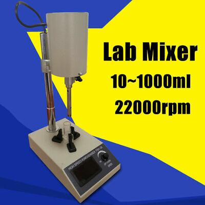 High Speed Shear Homogenizer Dispersion Dispenser Lab Emulsifier Mixer Fsh-2a Us