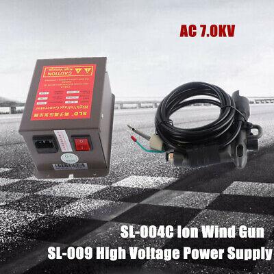 Ion Wind Gun Kit Industrial Static Eliminator 110vpower Supply 7kv Ion Air Gun