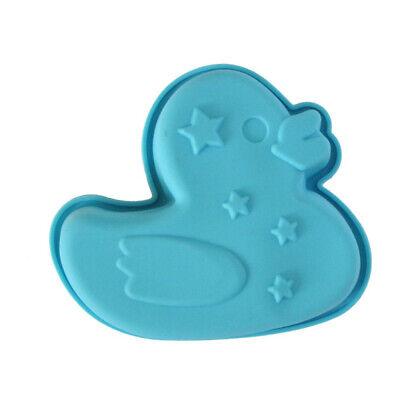Silikon Backform Ente Muffin Kuchenform auch für Pudding, Eis, Dessert (Ente Kuchen-form)