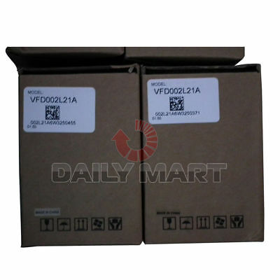 Delta Vfd002l21a 0.2kw 220v Electromagnetic Interference Plc New In A Box