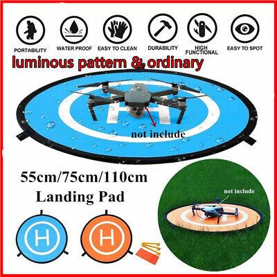 110cm Quadcopter Landing Pad RC Drone Landing Mat Helipad Unmanned Aerial UK C~
