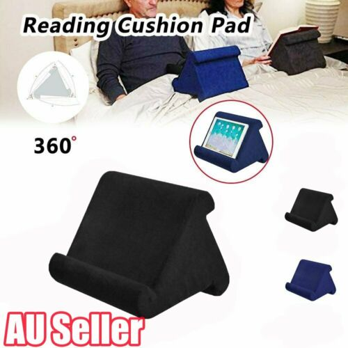Universal Phone /& iPad Pillow Holder Stand for Lap Knee Desk Floor Sofa iPad Pillow Holder for Lap Tablet Pillow Holder Reading in Bed