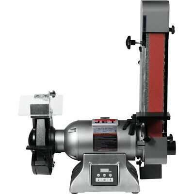 Jet 577248 Ibgb-248vs 8-inch Variable Speed Industrial Grinder And 2 X 48 Belt