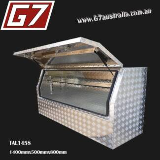 Aluminium Toolbox 1400mm Checker plate tool box ute truck tool Brisbane City Brisbane North West Preview