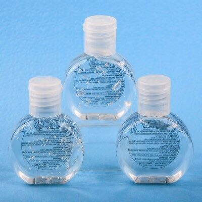 60 Round Travel Hand Sanitizer Soap Wedding Bridal Baby Shower Party Favors  - Travel Party Favors