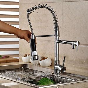 Spedizione-gratuita-girevole-e-estraibile-miscelatore-rubinetto-della-cucina-rt3