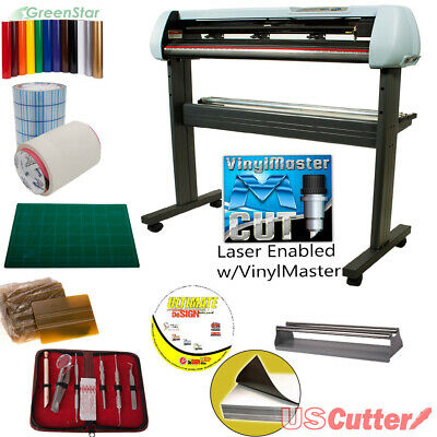 34 Vinyl Cutter Bundle Sign Cutting Plotter Wvinylmaster Cut - Design Cut
