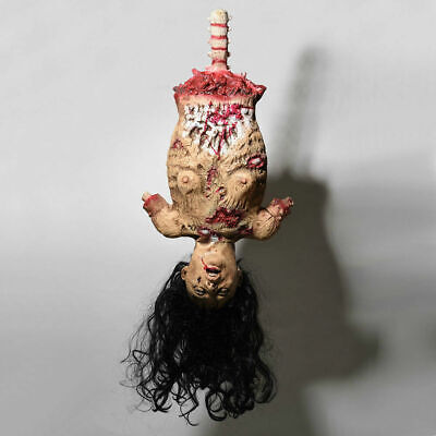 Halloween Scary Limbless Woman Corpse Hanging Haunted Severed House Party  -