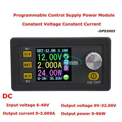 32v3a Programmable Step-down Power Supply Module Adjustable Output Digital