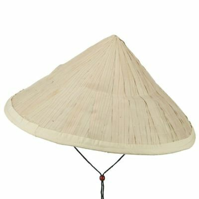 Large Straw  Asian Bamboo Conical Sun Hat 16