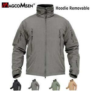 Waterproof Mens Jackets Tactical Fleece Lined Jacket Warm Windbreaker Army Coats