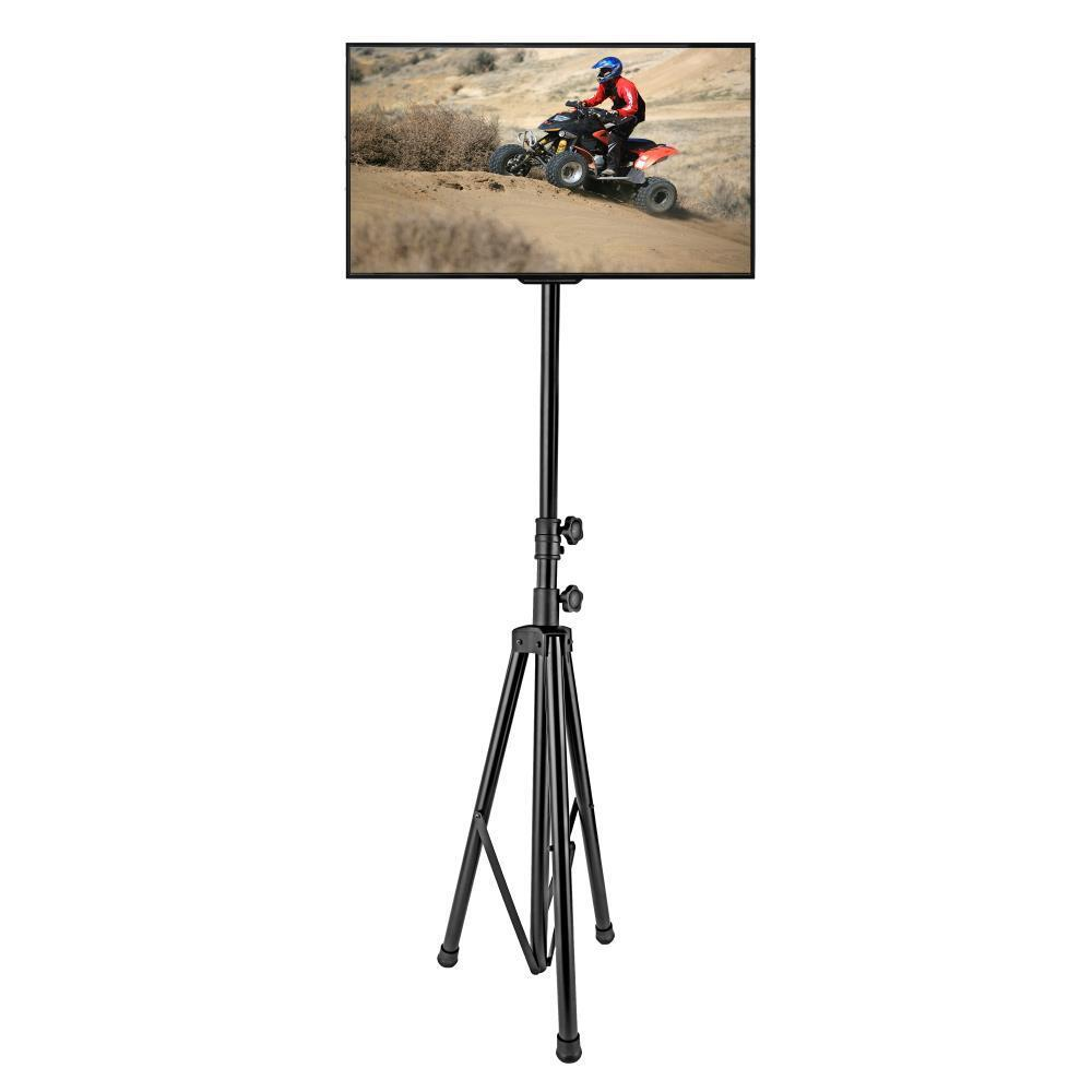 """Portable Tripod TV Stand Supports up to 60"""" Flat Screen TV's"""