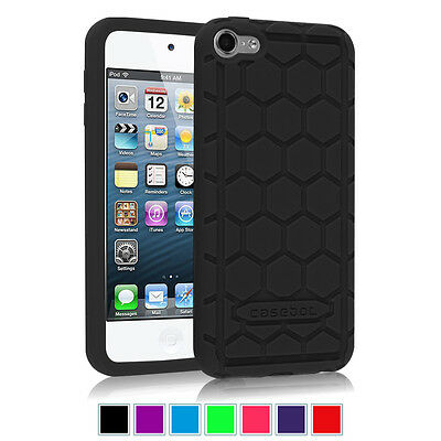Shock Proof Silicone Case Protective Cover For Apple iPod Touch 6th Generation - Ipod Touch Protective Case