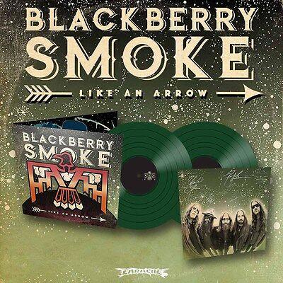 "Blackberry Smoke ""Like An Arrow"" SIGNED Green Vinyl - NEW"