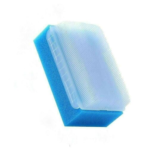 BLUE Scrub Sensory Therapy Soothing Surgical Brush Sponge Baby Cradle Cap Scalp