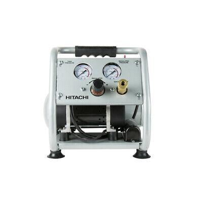 Hitachi Ec28m 59 Db Oil-free Portable 1-gal. Air Compressor Openbox