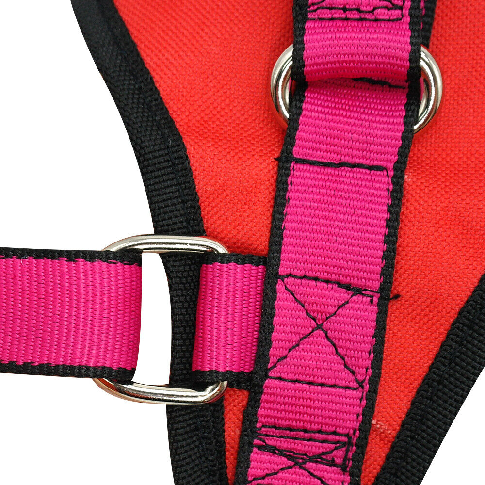 Adjustable No Pull Dog Vest Harness  U0026 Lift Nylon Handle For Extra Large Dogs