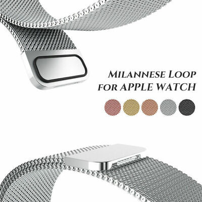 Milanese Loop Strap Watch Replacement Band Fit For Apple Watch Series 1 2 3 4 5