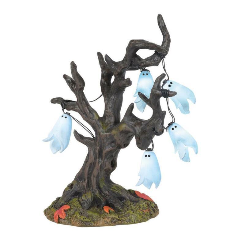 Department 56 Halloween Village Illuminated Ghost Tree Accessory 6005571