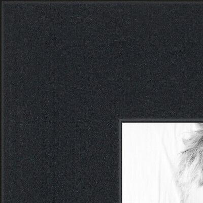 "ArtToFrames Custom Picture Poster Frame Satin Black 1.25"" Wi"