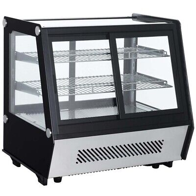 Marchia Mdcc125 28 Refrigerated Countertop Dual Access Display Case
