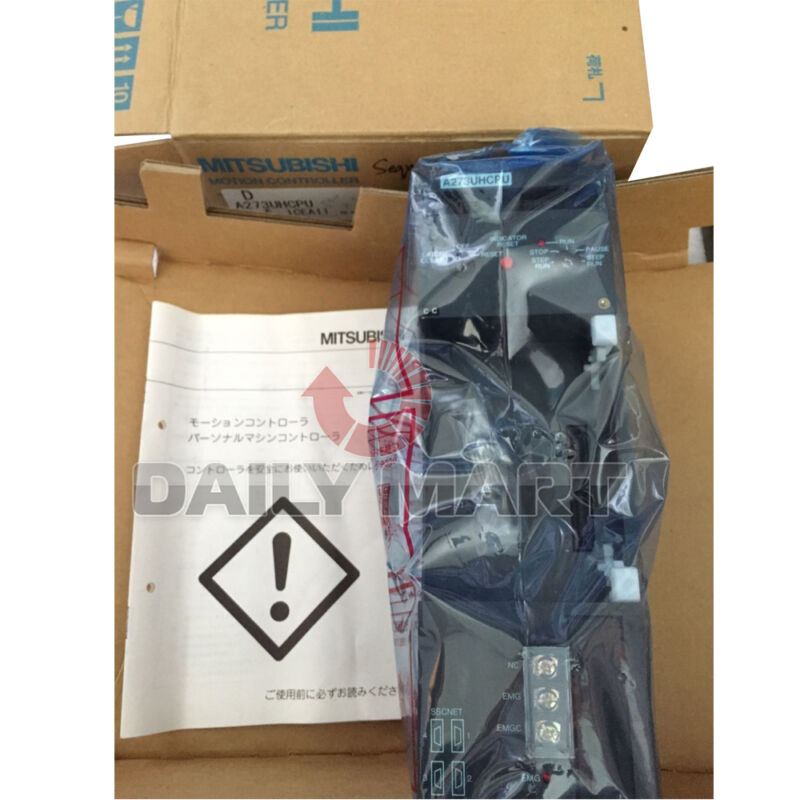 Mitsubishi Melsec Programmable Logic A273uhcpu Motion Controller Cpu Module Unit