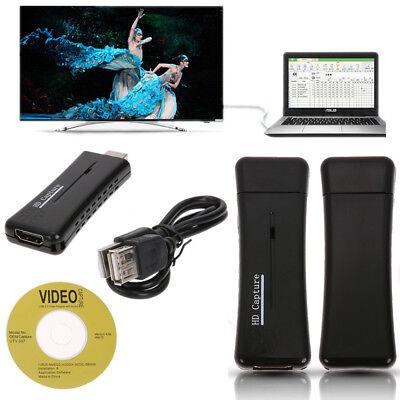 USB 2.0 HD 1080P HDMI Video Capture VGA Card For PC Win7/8/1