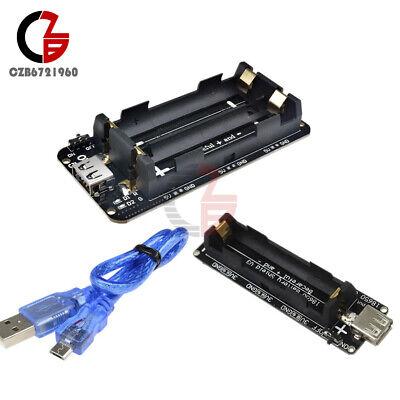 Raspberry Pi Wemos 18650 Battery Shield V3 V8 Esp32 Esp-32 Usb Cable For Arduino