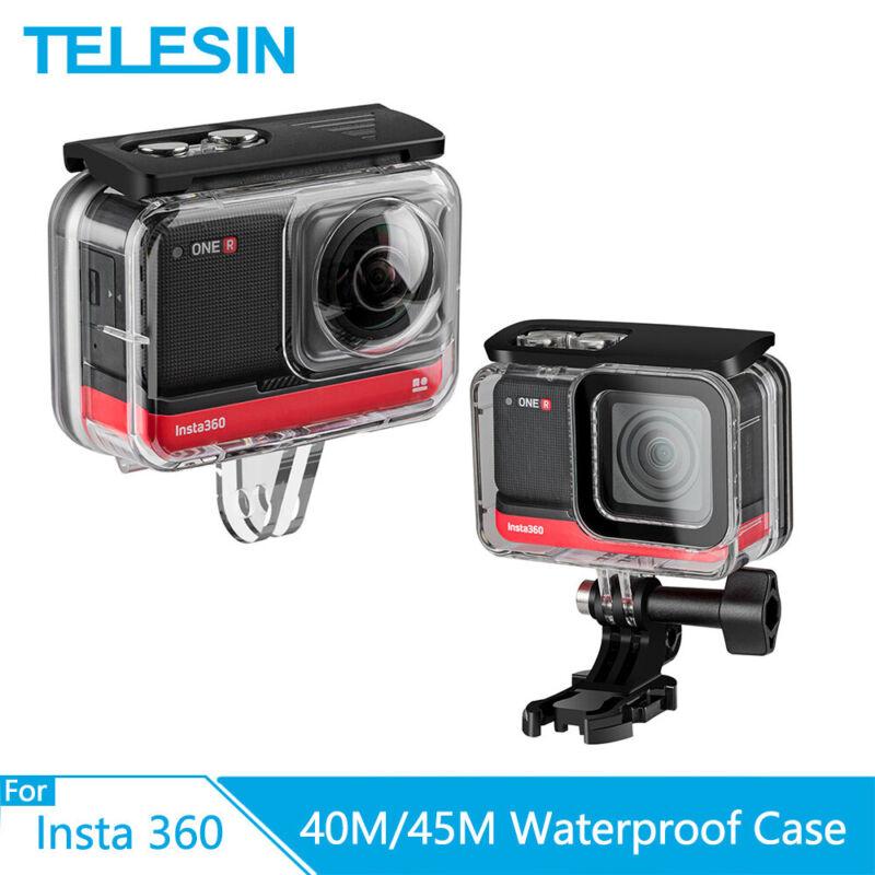 TELESIN 45M Waterproof Housing Case Underwater for Insta360 ONE R 360 Edition