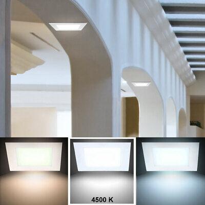 LED Panel Pasillo Techos Empotrable Luz Blanco Neutral Taburete Niveles Pared