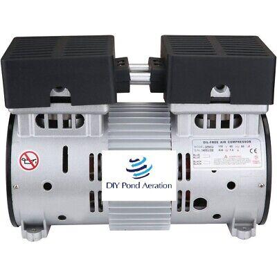 New 1-hp 120-psi Lake Fish Pond Aerator 3cfm Compressor Pump 110v 60hz