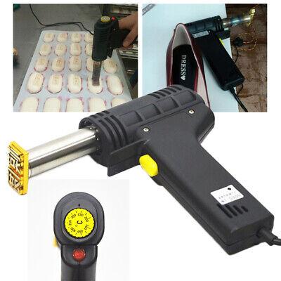 Branding Soldering Iron Foil Stamping Diy Logo Heating Embossing Stamp Machine