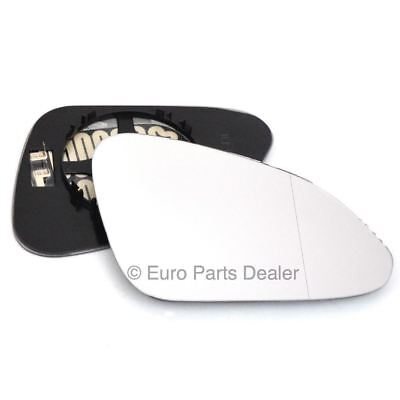 Wing mirror glass for Vauxhall Insignia 08-16 Driver side Aspherical Electric