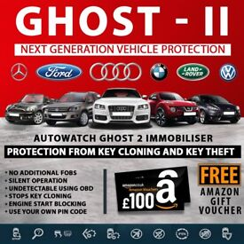 Autowatch GHOST 2 - Key Cloning, Theft Car Van CAN Bus Immobiliser Theft Protection System £449