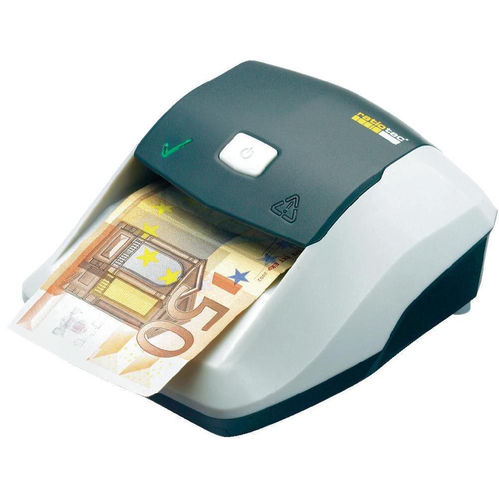 Geldprüfgerät Geldscheinprüfer Banknotenprüfer ratiotec Soldi Smart Falschgeld