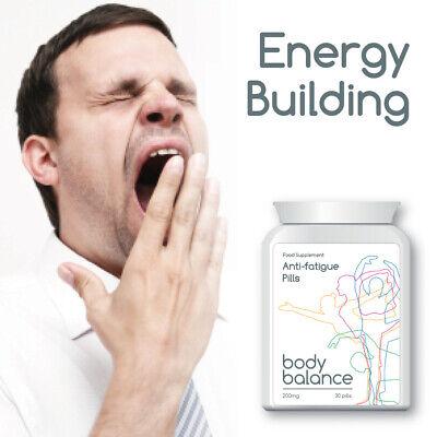 BODY BALANCE ANTI-FATIGUE PILLS TABLET ENERGY BUILDING GET ALERT & AWAKE