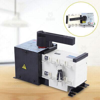 100 Amp 400 V Generator Automatic Transfer Switch 4p 5060hz Dual Power Pc Level