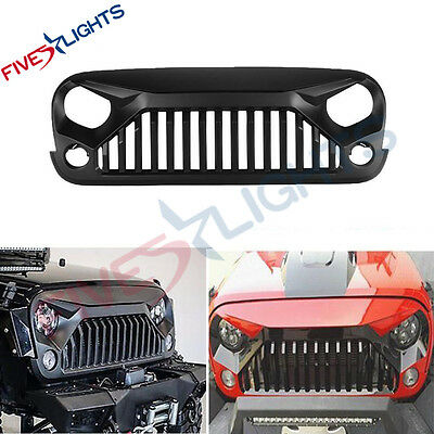 Upgrade Angry Bird Front Grill Grille For Jeep Wrangler 07-17 JK & Unlimited FS