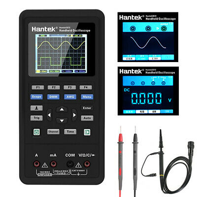 Hantek 3in1 Digital Oscilloscope2ch 40mhz 70mhz Waveform Generator Multimeter
